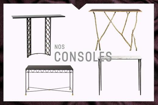 Notre collection de consoles Mobilier De Style