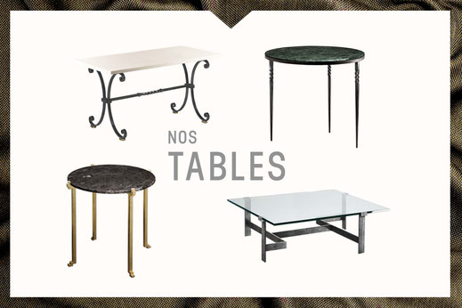 Notre collection de tables Mobilier De Style