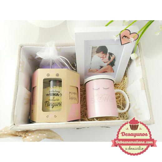 caja de los 5 sentidos, regalos dia de la madre, debuenamañana, desayuno dia de la madre, detalles dia de la madre, desayunos a domicilio Valencia, regalos personalizados