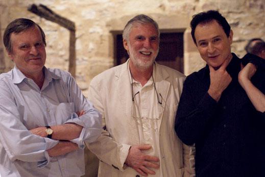 Philippe Hersant et Christian Lauba