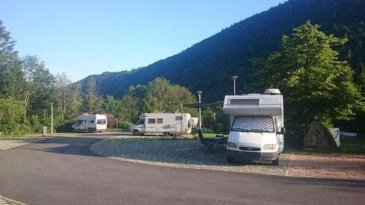 aire stationnement camping-cars la bresse