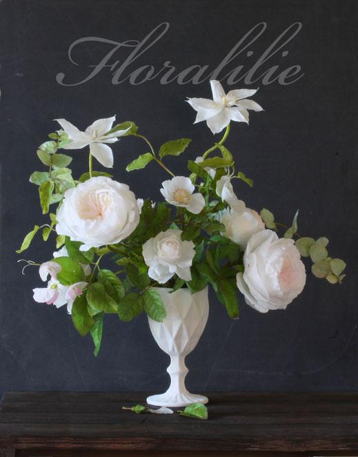 Wafer Paper Schmetterling und Glockenblumen | Floralilie Sugar Art