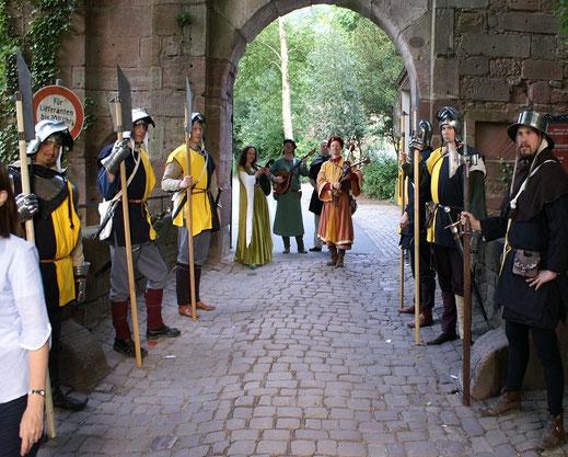 Teamevent Ritterspiele