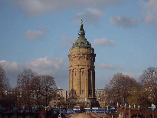 Der Wasserturm , Mannheim