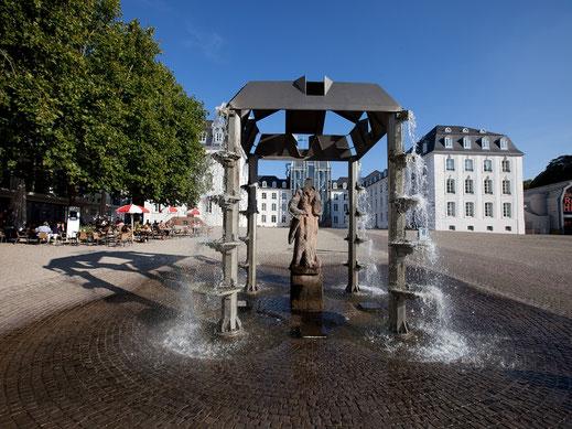 am Schloss Saarbrücken
