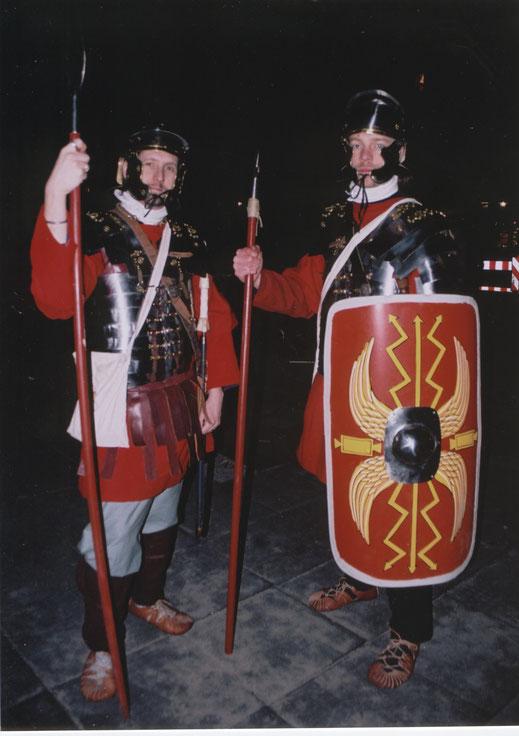 Teamevent römische Olympiade