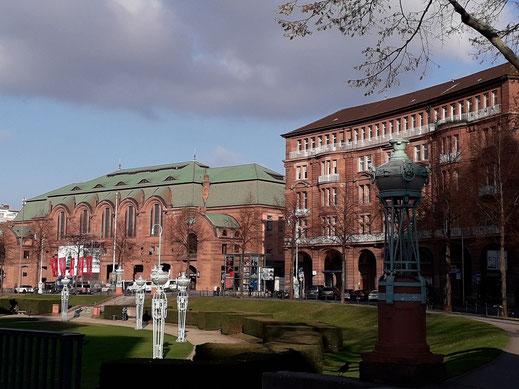 Mannheim : Am Wasserturm