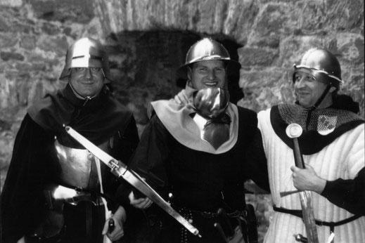 """Jungs"""" von der Burgwache"""