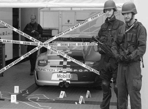 Agentenrallye in Darmstadt