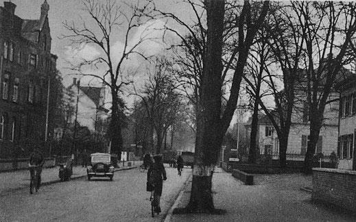 Blick in die Lindenstraße in den 1930er Jahren.