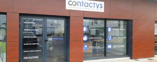 Magasin Contactys, client de Posteam entreprise de travail à temps partagé à Melle 79