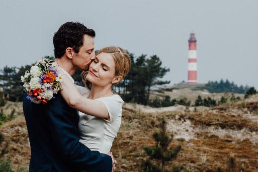 Hochzeitsfotograf Amrum, Heiraten im Leuchtturm