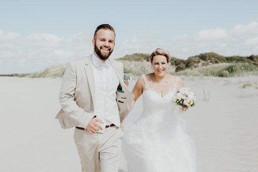 Hochzeitsfotograf Sankt Peter Ording, Strandhochzeit