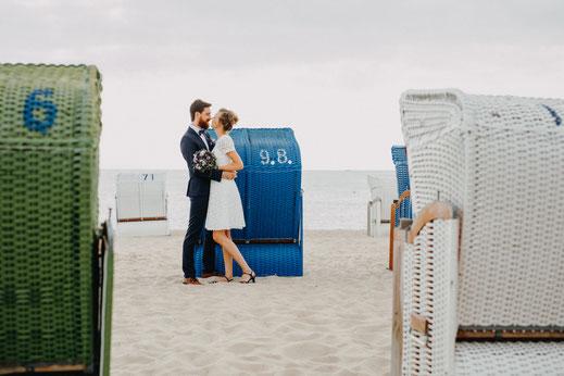 Hochzeitsfotograf Föhr, Heiraten am Strand