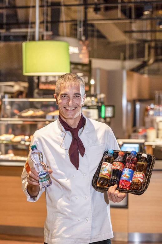Pierre Alain Broquet, Leiter Migros Restaurant