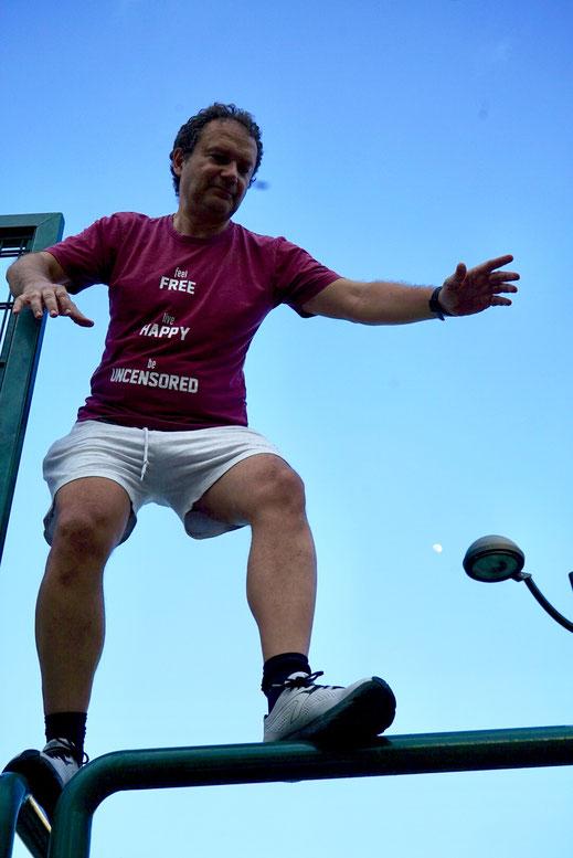 corso di parkour a Padova adulti e anziani