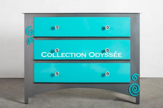 Collection Odyssée Morgan-h créateur de meubles en acier