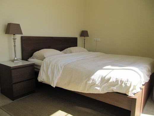 Master slaapkamer Villa Casa del Lago