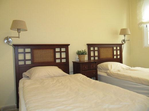 Slaapkamer begane grond Villa Casa del Lago