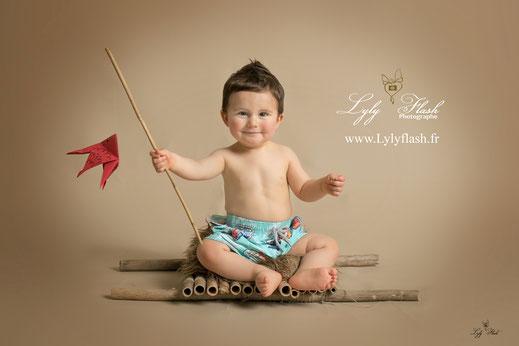 photographe bébé avr petit pêcheur studio