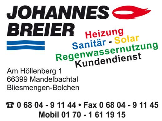 Johannes Breier Heizung Sanitär