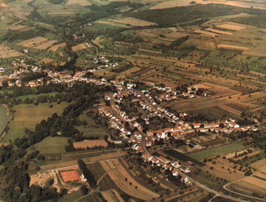 Luftbild aus den 70er-/80er-Jahren