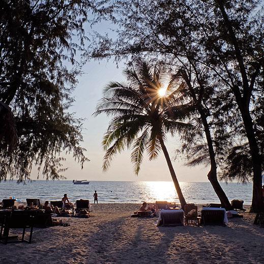 カンボジアのビーチ