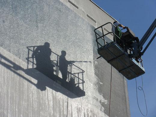 Fassadenreinigung Fassade Reinigung Hochdruckreinigung