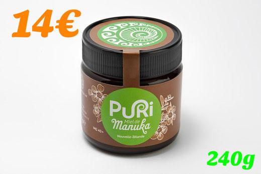 Pot de miel de Manuka (240g)