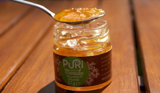 Cristallisation du miel de Manuka