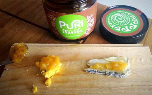 Fromages et miel de Manuka Puri New Zealand
