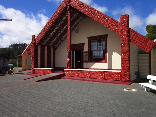 Maison de réunion Maori à Rotorua