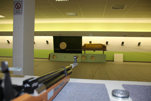 Schützengilde Backnang Diziplin Luftpistole Luftgewehr