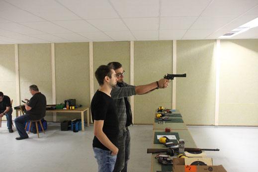 Schützengilde Backnang Diziplin Pistole