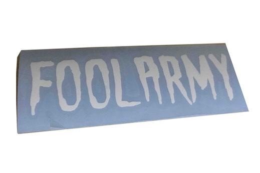 FOOL ARMY #konturgeschnitten