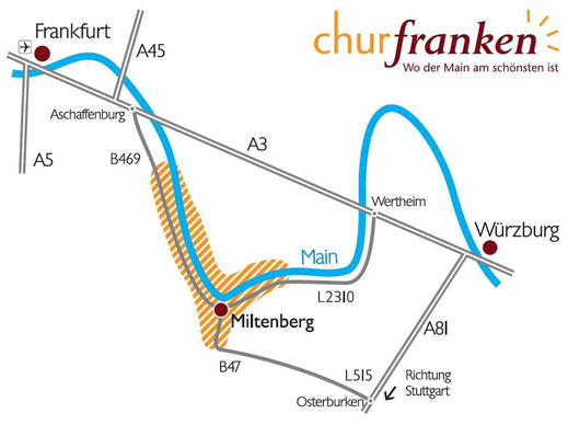 Churfranken Deutschland