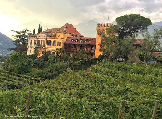 Schloß Rametz Weingut Südtirol Meran Ellen Warstat Reisen-mit-Genuss.de