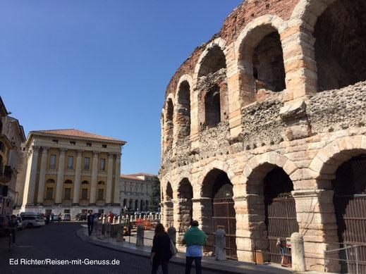Arena Verona Veneto Italien Ed Richter
