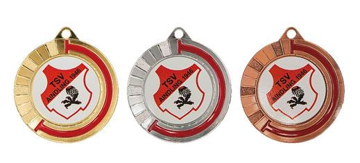 medaglie sportive personalizzate per una squadra