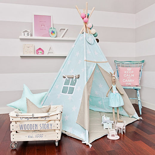 Décoration chambre enfant Tipi absolutly hit, Soaring Beige, Etsy