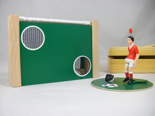 Tipp Kick in der Box , reise tipp kick ,tischfußball spiel