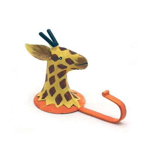 wandhaken giraffe , wandhaken tier motiv