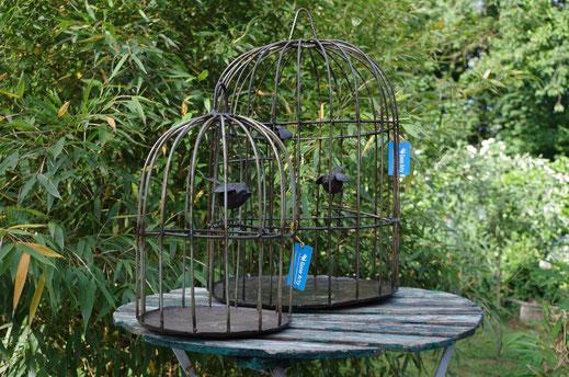deko vogelkäfig aus eisen Figur Fair trade,Fair gehandelte Kunst