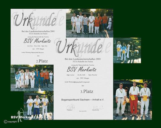 Foto - LM in Dessau 2001 - BSV Merkwitz 1997 e.V.