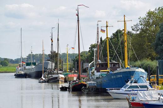 Hafen Wischhafen/Foto©Kiedel