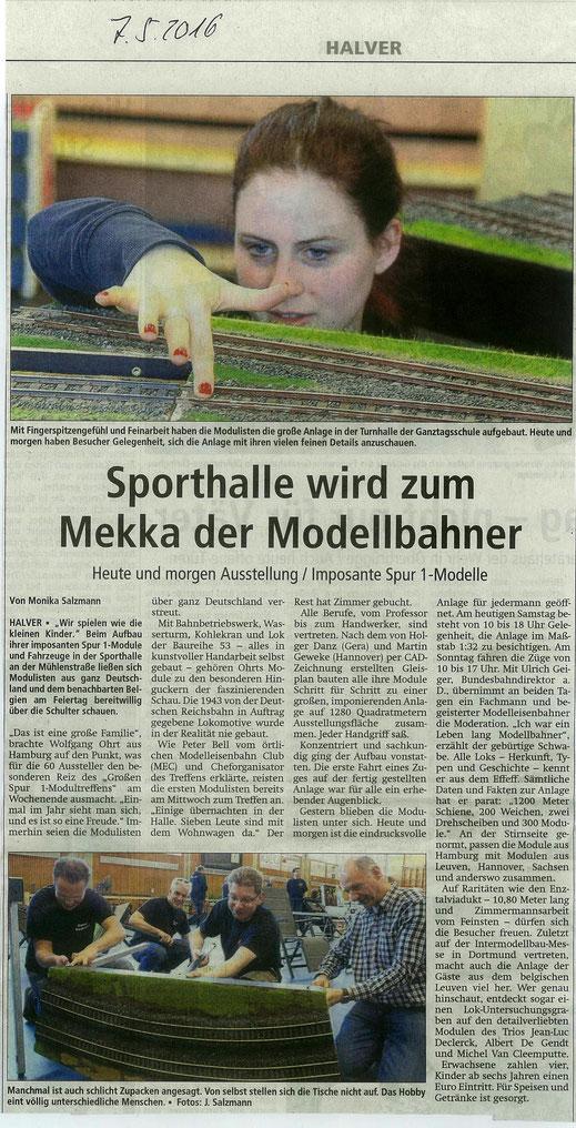 Ausgabe Allgemeiner Anzeiger 07.05.2016