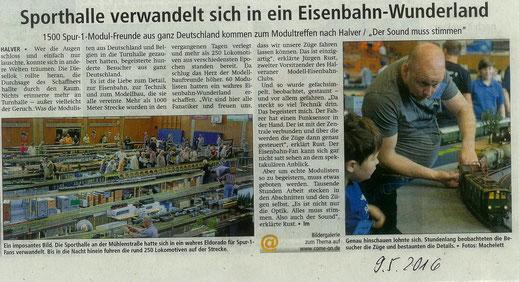 Ausgabe Allgemeiner Anzeiger 09.05.2016