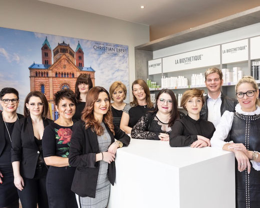 christian ebert - friseure speyer team / crew