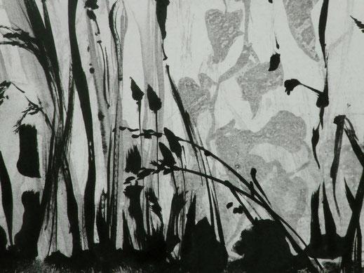 Mireille REQUISTON artiste peintre monotype