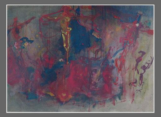[79] 59x81cm, 'Heiliges Feuer' (1983)